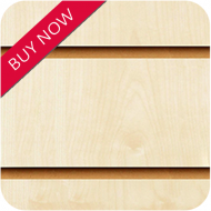 Maple Slatwall Panels 8x4 (2400x1200mm)