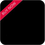Black MDF Shop Shelves For Slatwall Displays