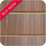 Walnut Slatwall Panels 8x4 (2400x1200mm)