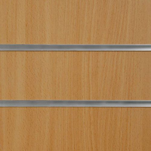 75mm Slot - Beech Slatwall Panel