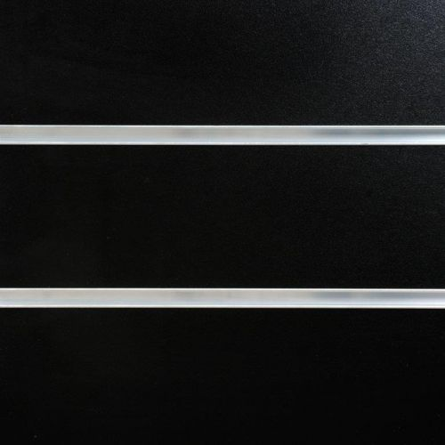 8x4 Black Slatwall Panels