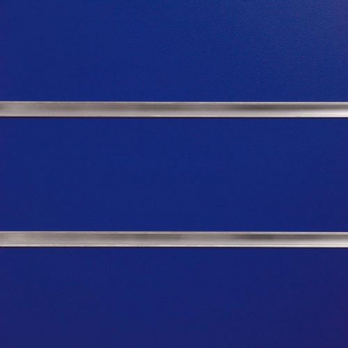 75mm Slot -Blue Slatwall Panel