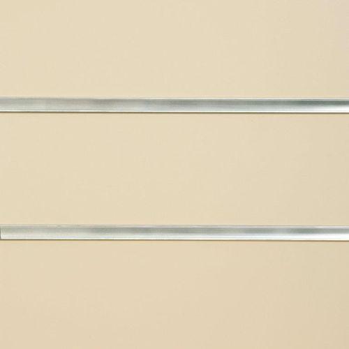 50mm Slot - Cream Slatwall Panel