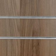 Light Walnut Slatwall Panels
