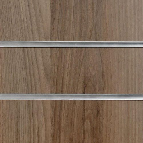 4x4 Light Walnut Slatwall Panels