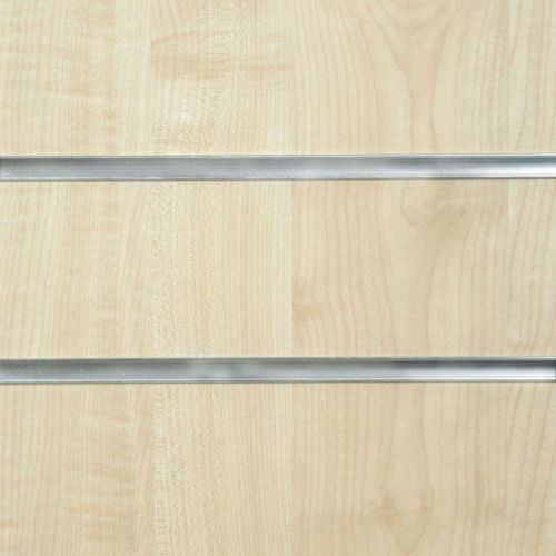 50mm Slot - Maple Slatwall Panel
