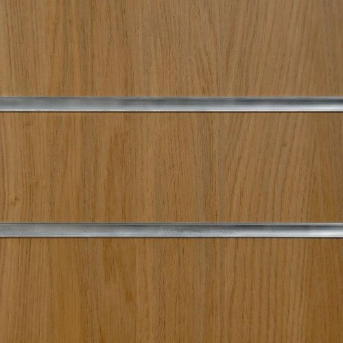50mm Slot - Oak Slatwall Panel