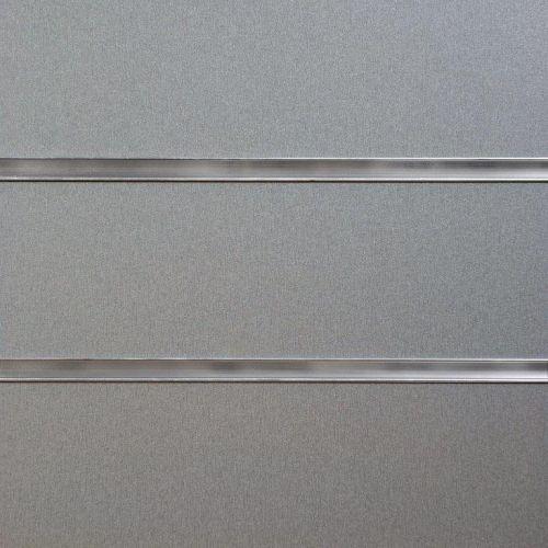4x4 Pewter Slatwall Panels
