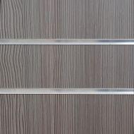4x4 Pino Grey Slatwall with Inserts