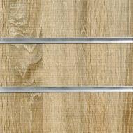 4x4 Rustic Oak Slatwall Panels