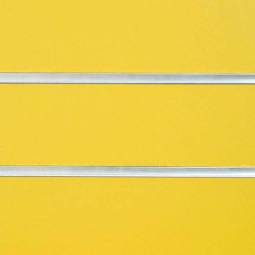 8x4 Yellow Slatwall Panels