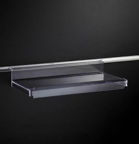 Flat Shelf with Lip 250mm Wide