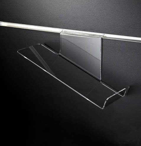 Sloping Shoe Shelf R/H