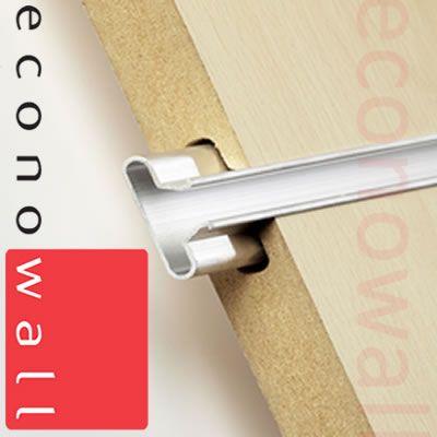 T Aluminium Slatwall Inserts