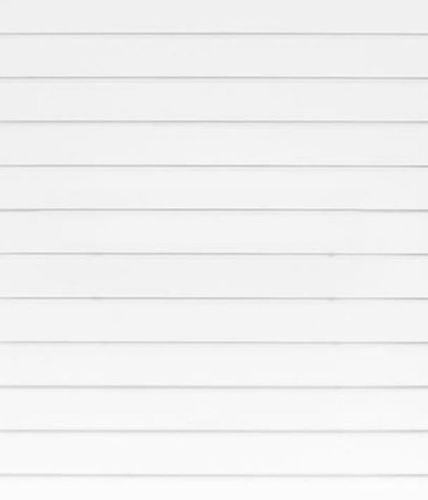 10no 8x4 White Slatwall White Inserts
