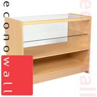 Half Glass Showcase Shop Counter