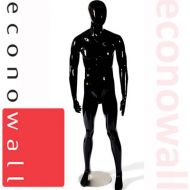 Lex - Gloss Black Male Shop Display Mannequin