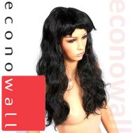 Long Black Hair Wig - For Shop Display Mannequins
