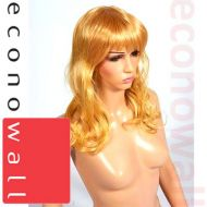 Long & Curly Blonde Hair Wig - For Shop Display Mannequins