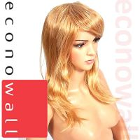 Female Mannequin Wig - Long Straight Blonde Hair