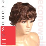 Short Dark Brown Hair Wig For Male Mannequins
