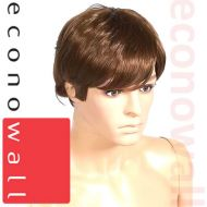 Short Cropped Brown Hair Wig For Male Mannequins- 2