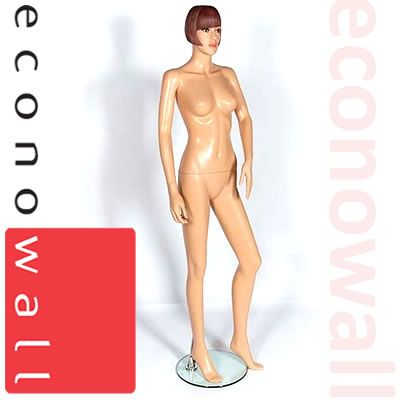 Fleshtone Shop Display Mannequin With Makeup - 3