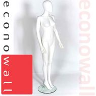 Female Shop Display Mannequin With Egg Style Head - 1