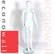 Female Shop Display Mannequin With Abstract Style Head - 3