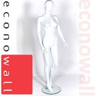 Female Shop Display Mannequin With Abstract Style Head - 4