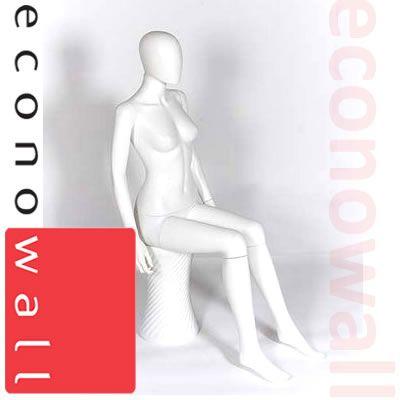 Sitting - Female Shop Display Mannequin
