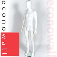 White Male Mannequin With Egg Style Head - 1