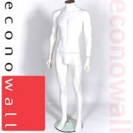 White Headless Male Shop Display Mannequin - 1
