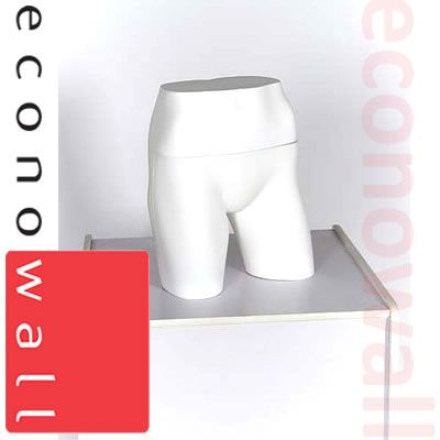 Female Panty Form Mannequin White