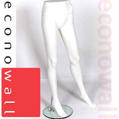 Female Leg Form Mannequin White