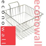 Deep Display Basket For Slatwall