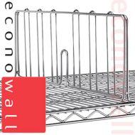Box of 10 Shelf Dividers For Chrome Wire Shop Shelving