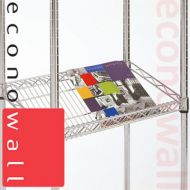 Box of 4 Sloping Shelves For Chrome Wire Shelving