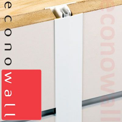 Slatwall PVC Joining Strip Trim