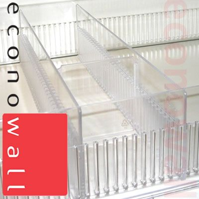 Plastic Toothed Shelf Riser 75mm Exposed