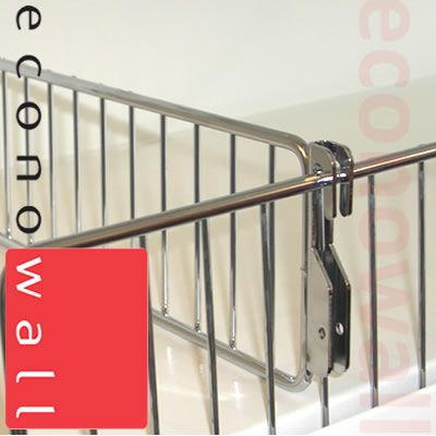 Wire Shelf Divider 150mm Exposed