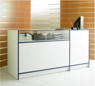1800mm 1/4 Glass Combination Sales Counter